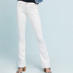 COH Kelly Low Waist Bootcut White Stretch Jeans 29